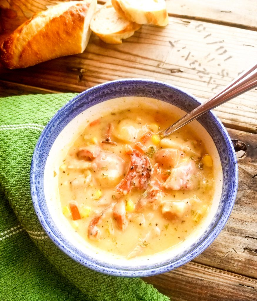 Smoky, creamy, a little bit rustic and ribboned with the subtle flavor of tarragon makes this Smoked Salmon Chowder a Pacific Northwest favorite.