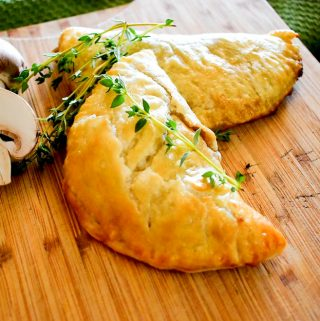Savory Mushroom-Thyme Hand Pies