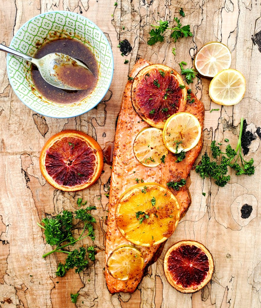 Sweet and Spicy Citrus Salmon